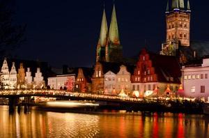 Bild Weihnachtsmarkt Lübeck