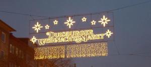 Bild Weihnachtsmarkt Duisburg