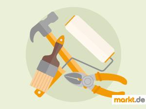 Grafik Werkzeug zum Renovieren