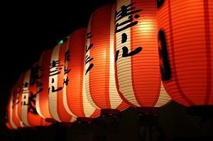 Asiatische Lichter
