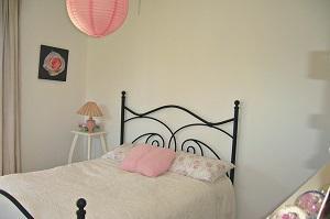 Bild Romantisches Bett