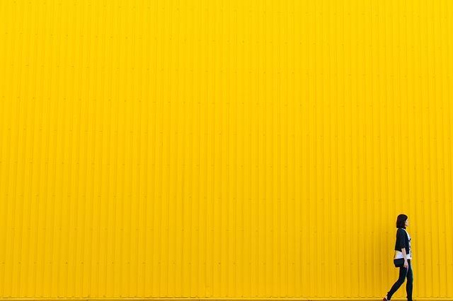 Bild Wandfarbe Gelb