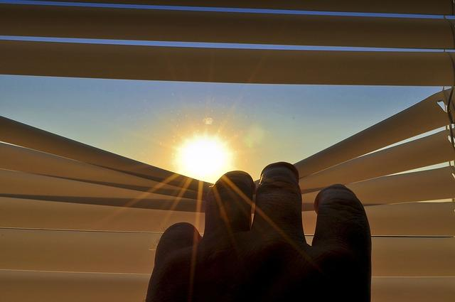 Jalousie schütz vor Sonne