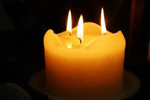 Bild Kerzen mit mehreren Dochten