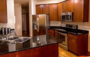 Küche Holzoptik