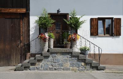 Landhaus von außen