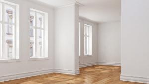 Bild unmöblierte Wohnung