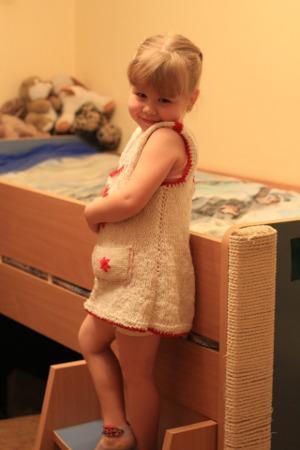 Bild Mädchen mit Hochbett