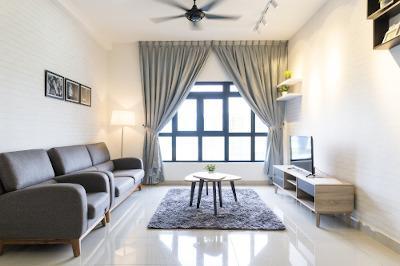 Wohnung modern eingerichtet