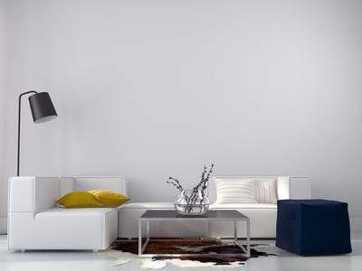 minimalistische Wohnung