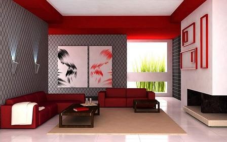Rote Farben Fur Ihre Wohnung Markt De